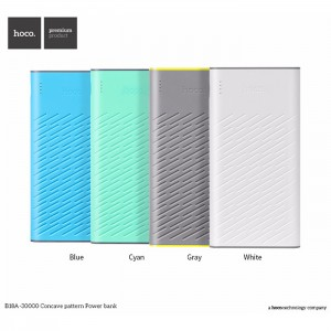 Power Bank HOCO B18A Concave pattern 30000 mAh