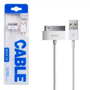 USB cable HOCO UP301 для iPhone 4